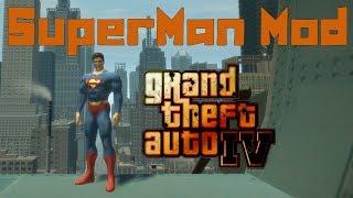 GTA IV. SuperMan Mod. Супермен.
