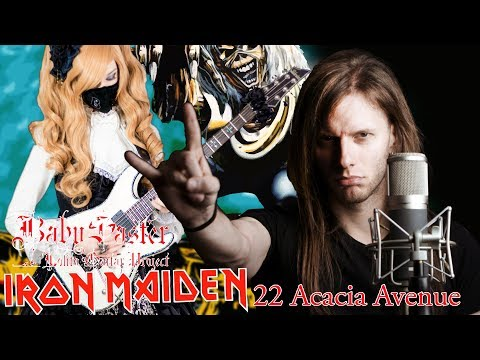 【Iron Maiden】 - 「22, Acacia Avenue」COVER † BabySaster & Mike Livas