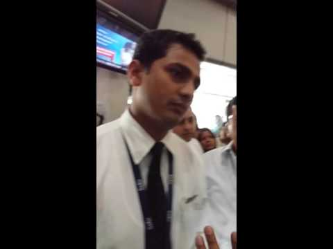 GO AIR passengers facing problem at Mumbai Airport on 12th March 2016