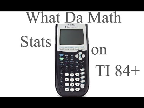 Doing Statistics On TI 84 Plus - IB Math Studies (Math SL)