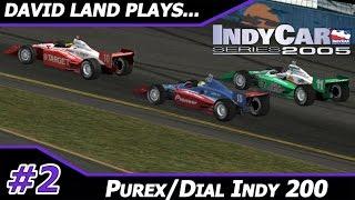 Purex Dial Indy 200 @ Phoenix  [David Land Plays IndyCar Series 2005 Season 2/16] HD Gameplay