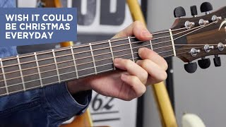 Wizard - I Wish It Could Be Christmas Everyday - Easy Christmas Songs On Guitar - Guitar Tutorial