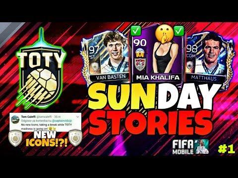 PRIME ICON VAN BASTEN & MATTHÄUS/+TOTY BESZÁMÓLÓ|w/TIPS!!| SUNDAY STORIES #1| FIFA 18 MOBILE |HUN|