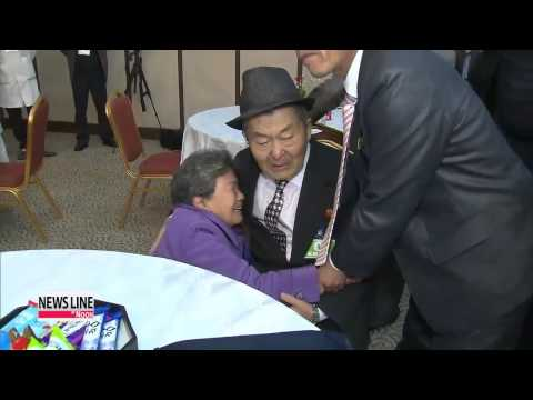 New round of inter-Korean family reunions into second day at North's My. Kumgang