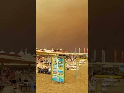Forest fire in Antalya 29.07.21 Waldbrand in Antalya Aktuell.