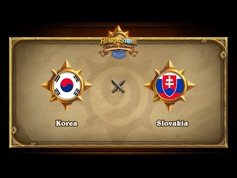 Korea vs Slovakia, Hearthstone Global Games Group Stage