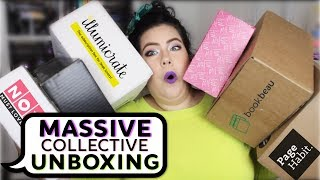MASSIVE BOOKISH AND FANDOM UNBOXING.... Six Boxes!!!!