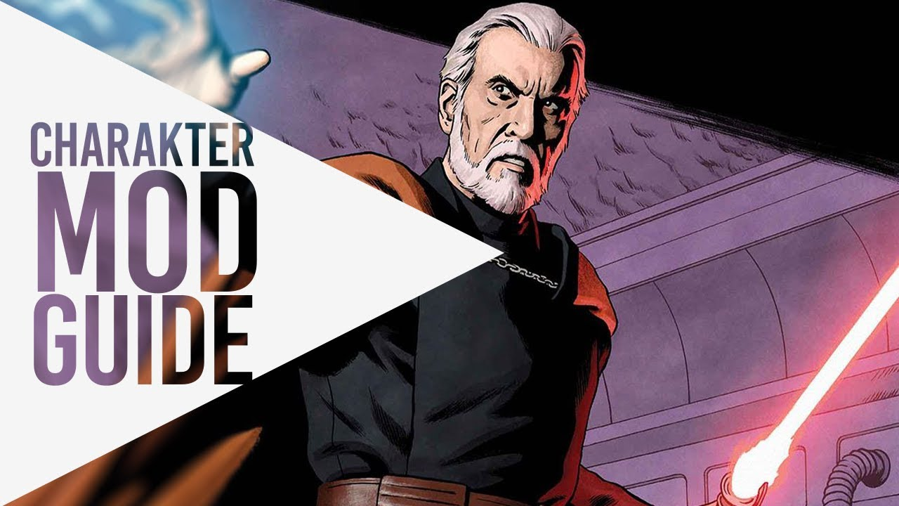COUNT DOOKU ▶ Charakter Mod Guide ▷ Star Wars: Galaxy of Heroes