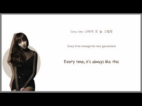 Every Night - EXID - Han | Rom | Eng Color Coded Lyrics Sub