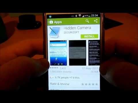 Ultimate Spy Camera App for Samsung Galaxy S4 Android - Mobile Hidden Camera App Review