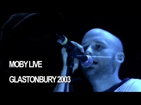 Moby 'In This World' Live at Glastonbury