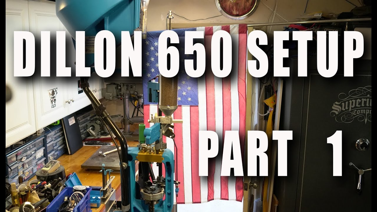 Setting up a Dillon 650 to load 9mm Part 1 Case Setup