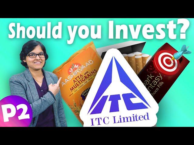 ITC Case Study📚   ITC Ltd. Fundamental Analysis Part 2 By CA Rachana Ranade   🎯 Target
