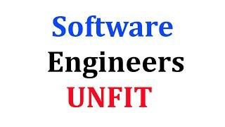 95% Engineers UNFIT for Software Development JOBS