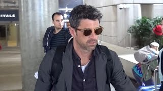EXCLUSIVE - Patrick Dempsey Disturbed When Asked About Alleged Affair At LAX