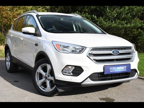 used ford kuga 1 5 tdci zetec 5dr 2wd platinum white 2017 youtube. Black Bedroom Furniture Sets. Home Design Ideas