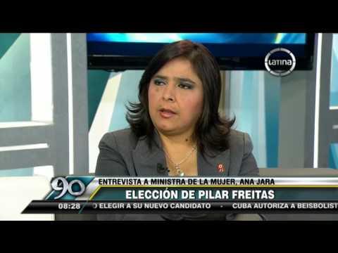 """Ana Jara: """"Perú Posible es un compañero de ruta, no veo motivos para un alejamiento"""""""