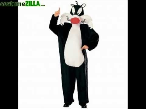 Sylvester the cat mascot costume