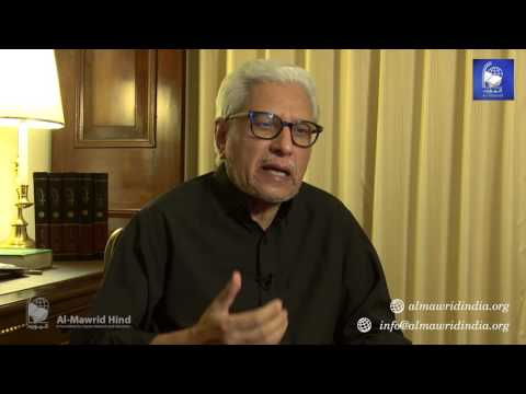 Javed Ahmad Ghamidi's online session at Jawaharlal Nehru University