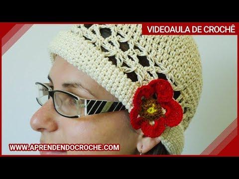 Chapéu de Croche Gracinha - 1º Parte - Aprendendo Crochê - YouTube 7cc0d67e4cc