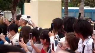 2009.03.21 沖縄国際映画祭 レッドカーペットにて。