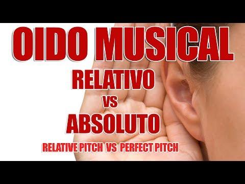 OIDO MUSICAL RELATIVO vs ABSOLUTO
