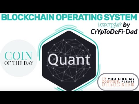 QUANT coin of the day (Windows Server for Blockchain )