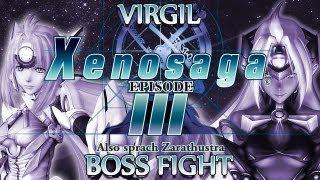 Ⓦ Xenosaga Episode 3 Walkthrough - Virgil (Blue Testament) Boss Fight