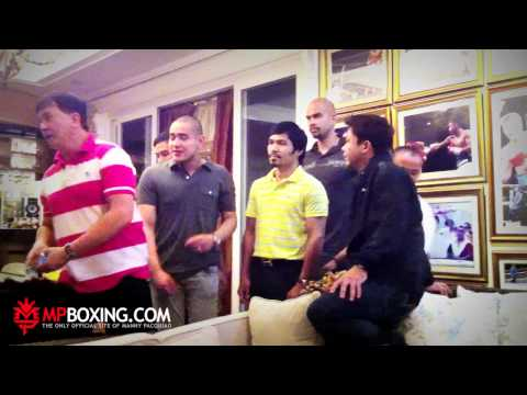MPBoxing - Post Birthday Party:  Hanging out at Manny Pacquiao's Mansion