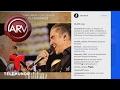 Alejandro Fernández felicita a su padre en su cumpleaños | Al Rojo Vivo | Telemund
