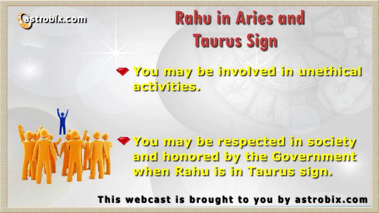 rahu in aries vedic astrology