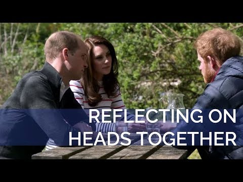 Thumbnail: The Duke and Duchess of Cambridge and Prince Harry reflect on the Heads Together Campaign
