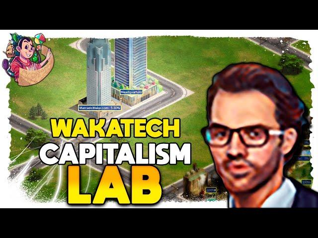A ESTRATÉGIA que FALTAVA! | Capitalism Lab Wakatech (2021) #07 - Gameplay PT BR