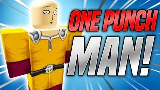 NEW ONE PUNCH MAN GAME IN ROBLOX!! (Roblox Project: OPM) Roblox Anime