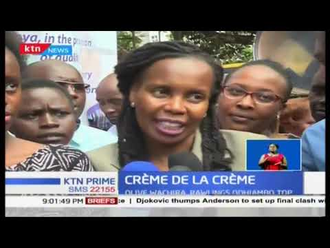 KCPE\'s Creme de-la creme boy and girl celebrated after scoring 453 marks out of 500