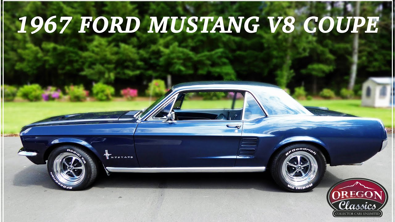 1967 ford mustang v8 coupe part 1 youtube. Black Bedroom Furniture Sets. Home Design Ideas