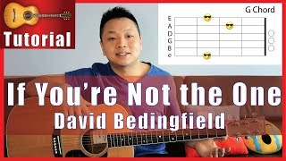 If You're Not the One - David Bedingfield Guitar Tutorial