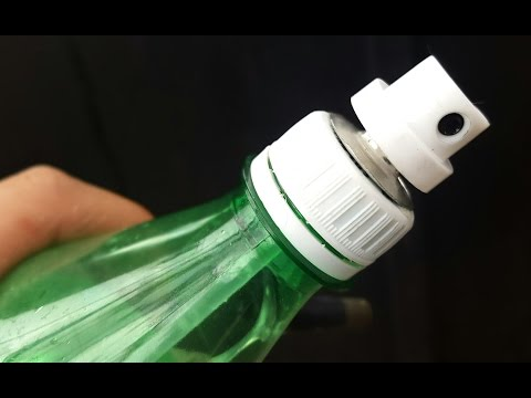 AWESOME IDEA How to Make Water Spray Pump