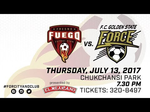 Fresno Fuego vs FC Golden State Force