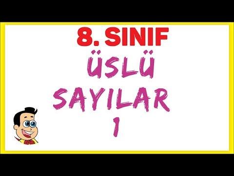 8. Sinif | üslü Sayilar 1 Şenol Hoca Matematik