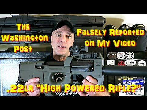 The Washington Post Falsely Reported My Video - TheFireArmGuy