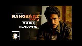 Rangbaaz | Uncensored Trailer | Saqib Saleem | A ZEE5 Original Web Series