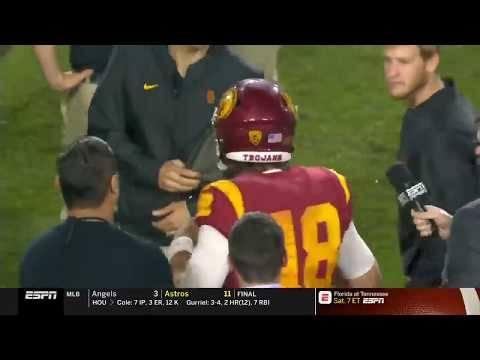 Football: USC 39, WSU 36 - Highlights 9/21/2018