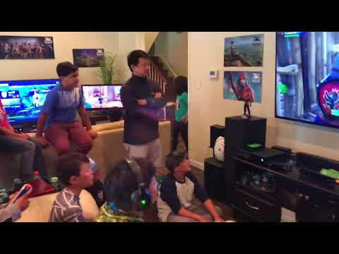 Most LIT Fortnite Birthday Party