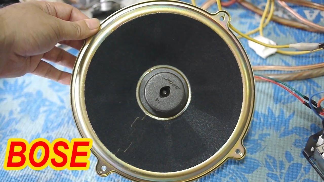 "Bose Speakers For Cars: BOSE 9"" SUBWOOFER & Amplifier"