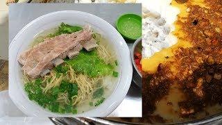 Hủ tiếu sườn Lò Siêu trứ danh quận 11 và Xe bánh bột, hoành thánh lá bán rẻ nhất Sài Gòn