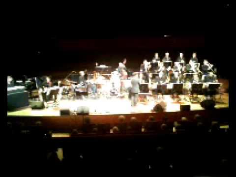 Charlie Watts with Denmark Radio Big Band in Copenhagen 3rd