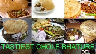 TASTIEST Chole Bhature In Delhi