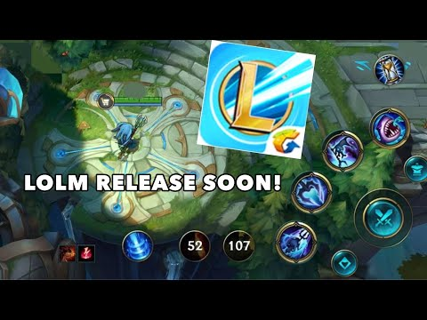 LEAGUE OF LEGENDS MOBILE REVEAL DATE! + LOLMOBILE GAMEPLAY
