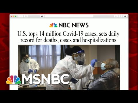 U.S. Reports Highest Single-Day Virus Death Toll | Morning Joe | MSNBC